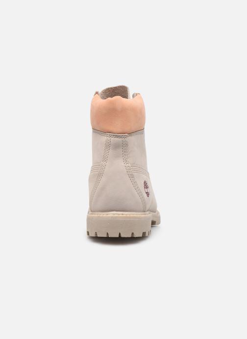 Bottines et boots Timberland 6in Premium Boot - W Beige vue droite