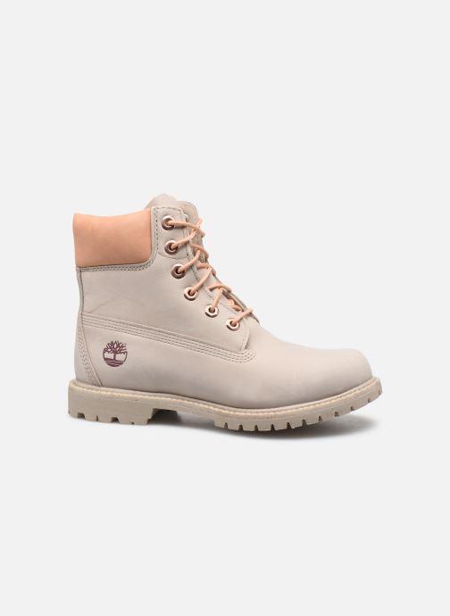 Boots en enkellaarsjes Timberland 6in Premium Boot - W Beige achterkant