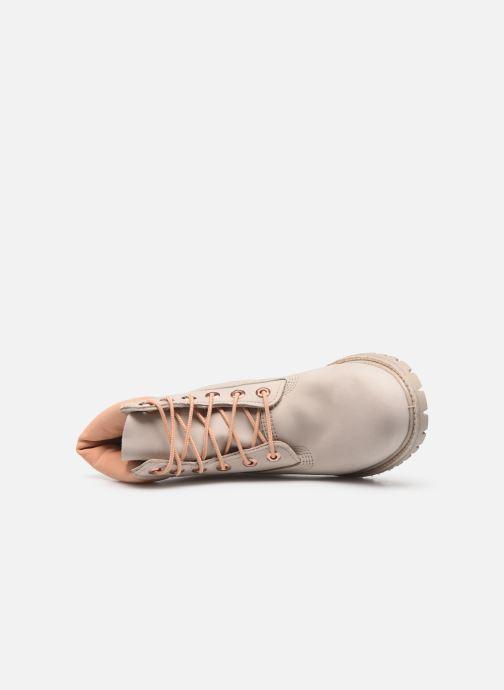 Boots en enkellaarsjes Timberland 6in Premium Boot - W Beige links
