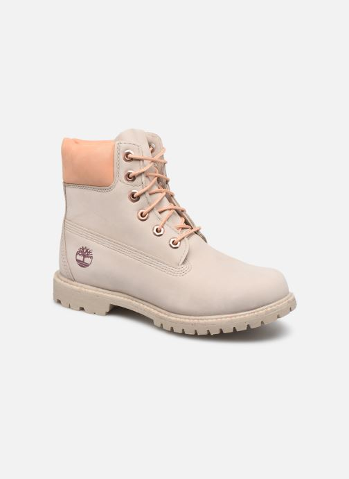Bottines et boots Timberland 6in Premium Boot - W Beige vue détail/paire