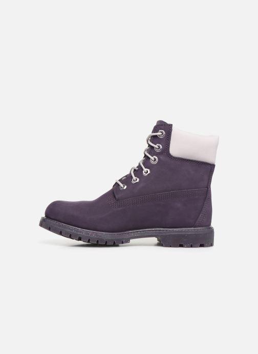 Boots en enkellaarsjes Timberland 6in Premium Boot - W Paars voorkant