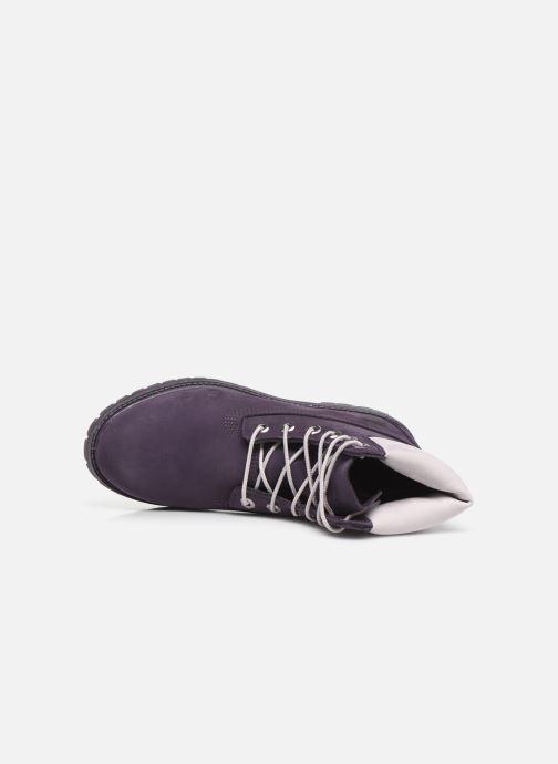 Boots en enkellaarsjes Timberland 6in Premium Boot - W Paars links
