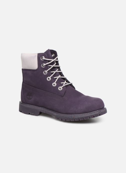 Boots en enkellaarsjes Timberland 6in Premium Boot - W Paars detail