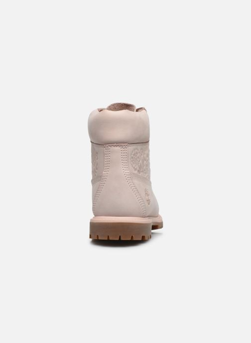 Bottines et boots Timberland 6in Premium Boot - W Rose vue droite