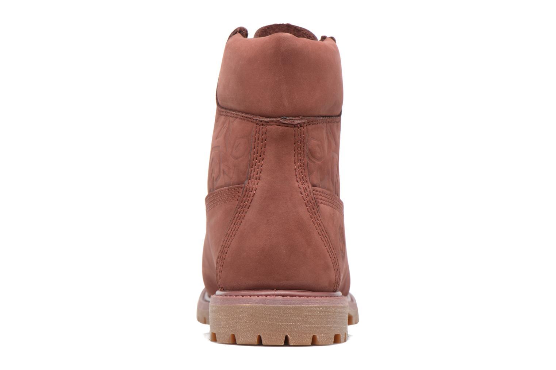 Bottines et boots Timberland 6in Premium Boot - W Bordeaux vue droite