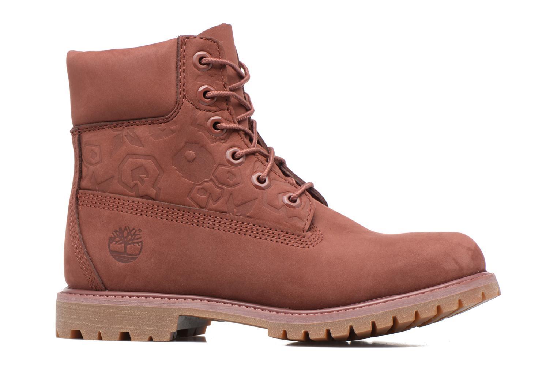 Bottines et boots Timberland 6in Premium Boot - W Bordeaux vue derrière