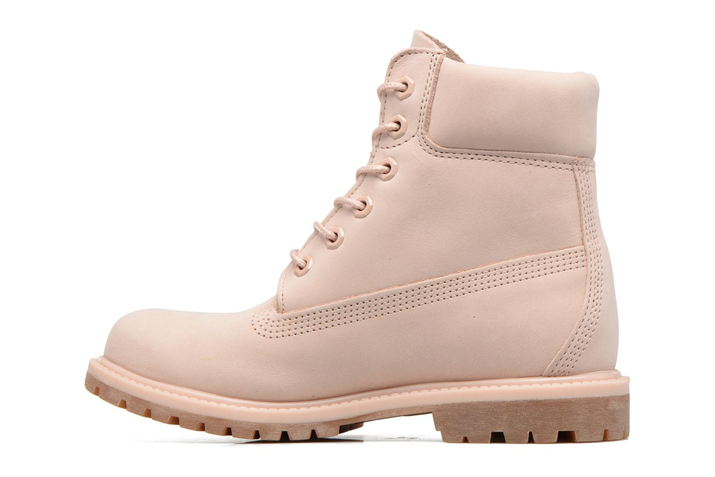 Stiefeletten & Boots Timberland 6in Premium Boot - W rosa ansicht von vorne