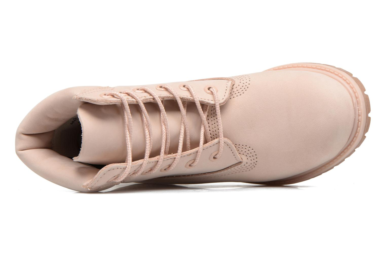 Stiefeletten & Boots Timberland 6in Premium Boot - W rosa ansicht von links