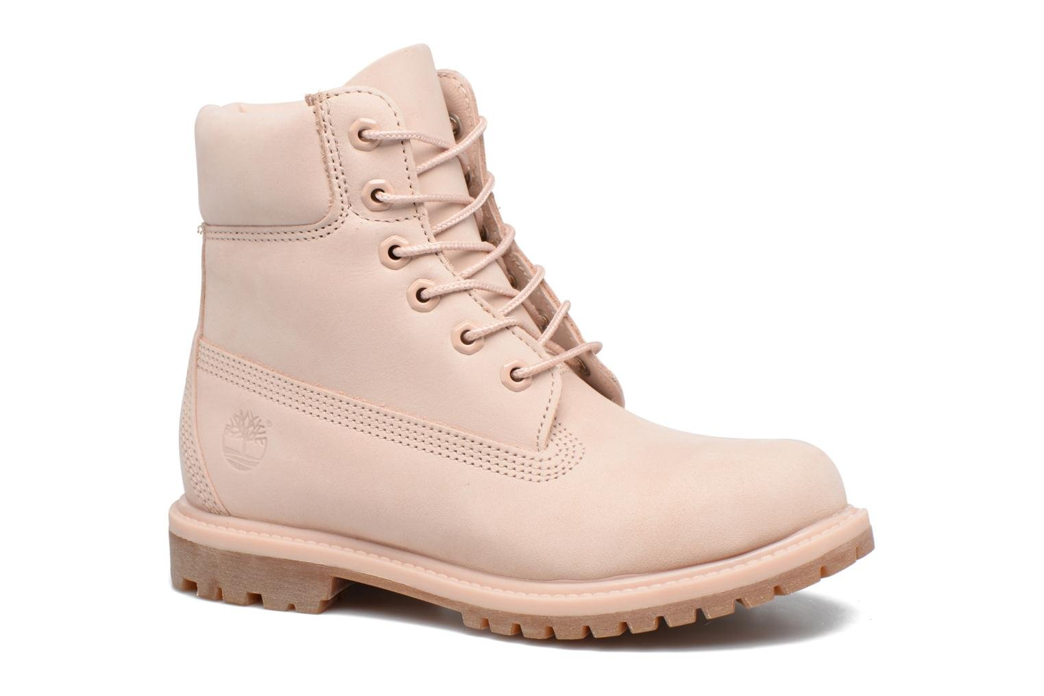 Bottines et boots Timberland 6in Premium Boot - W Rose vue détail/paire
