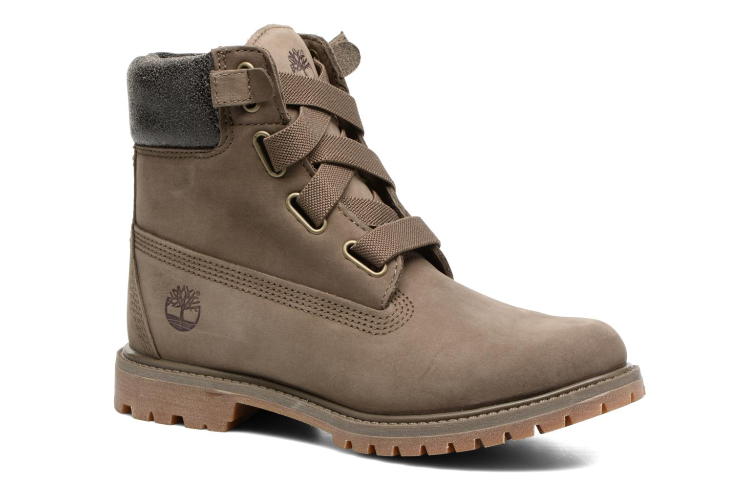 Bottines et boots Timberland 6in Premium Boot - W Vert vue détail/paire