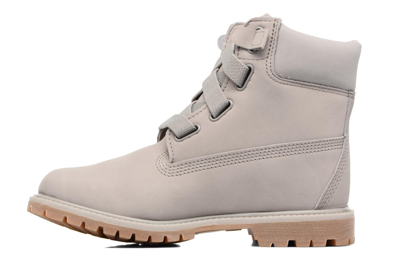 Botines  Timberland 6in Premium Boot - W Gris vista de frente