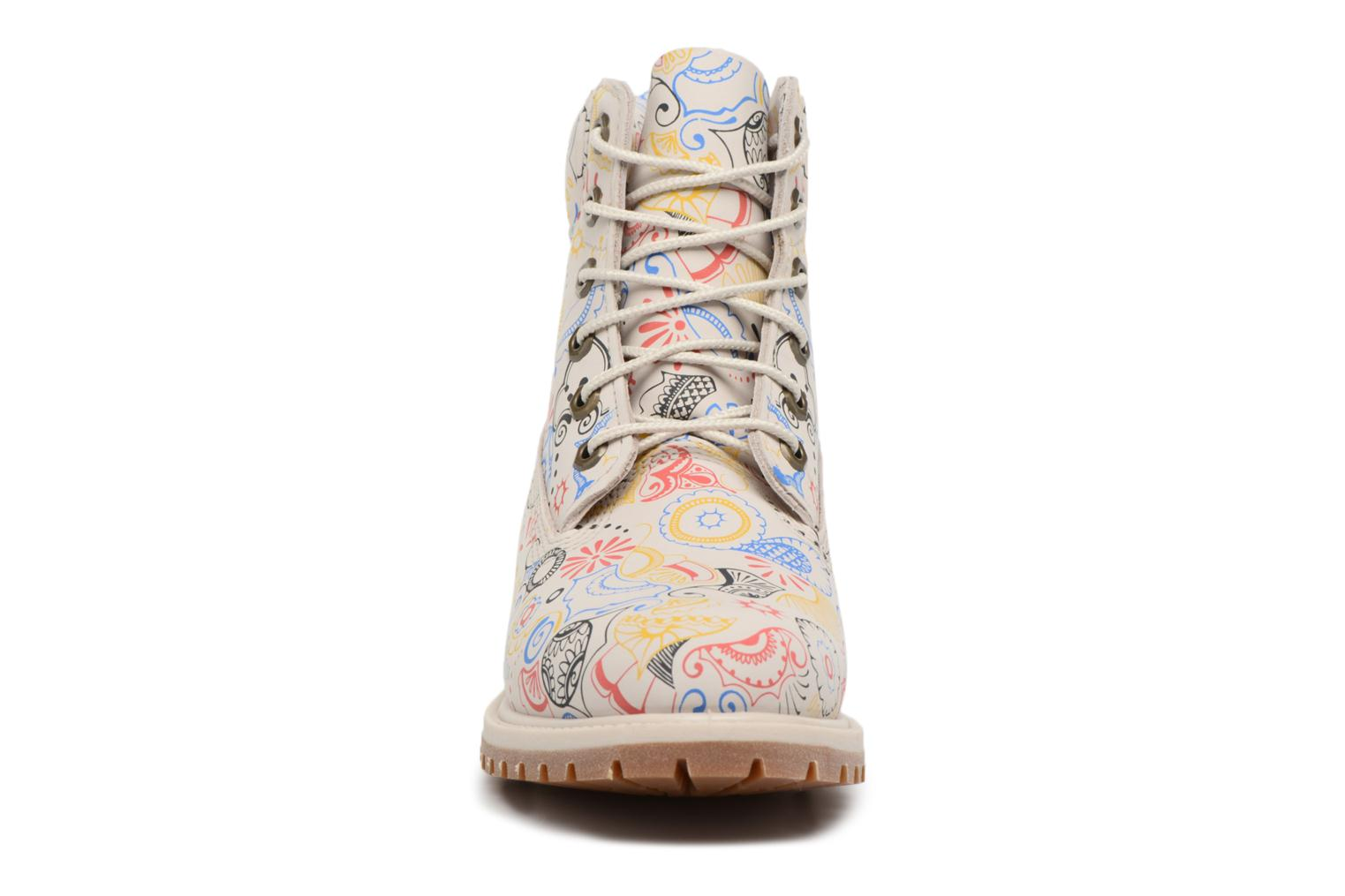 Bottines et boots Timberland 6in Premium Boot - W Multicolore vue portées chaussures
