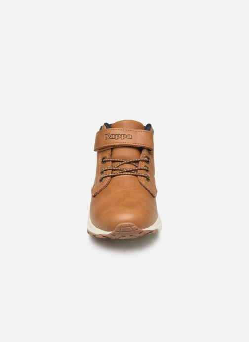 Baskets Kappa Telmo EV Marron vue portées chaussures