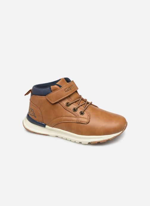 Trainers Kappa Telmo EV Brown detailed view/ Pair view