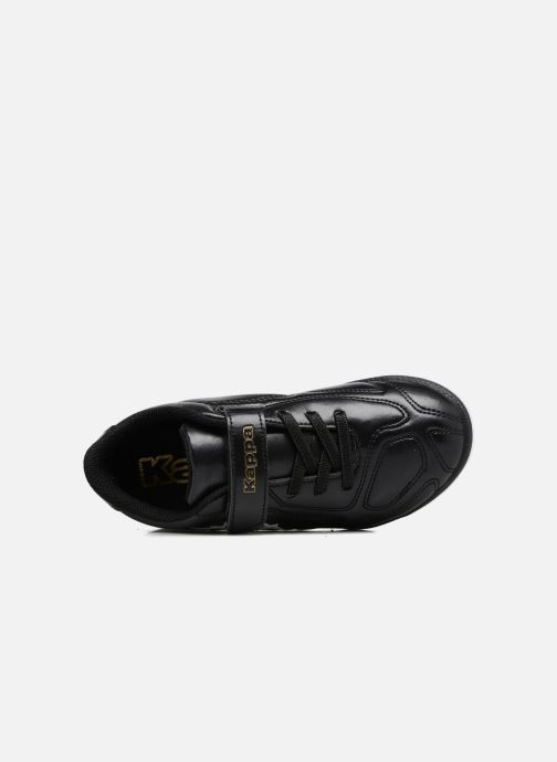 Zapatillas de deporte Kappa Parek TG Kide EV Negro vista lateral izquierda
