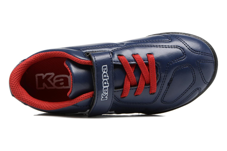 Chaussures de sport Kappa Parek TG Kide EV Bleu vue gauche