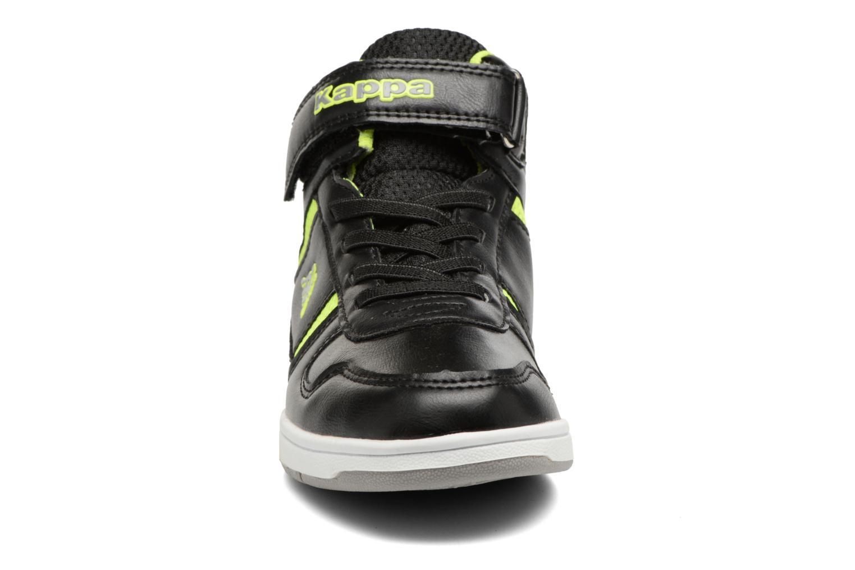 Baskets Kappa Draver Mid EV Noir vue portées chaussures