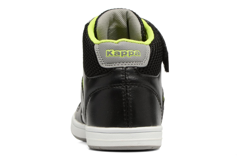 Baskets Kappa Draver Mid EV Noir vue droite