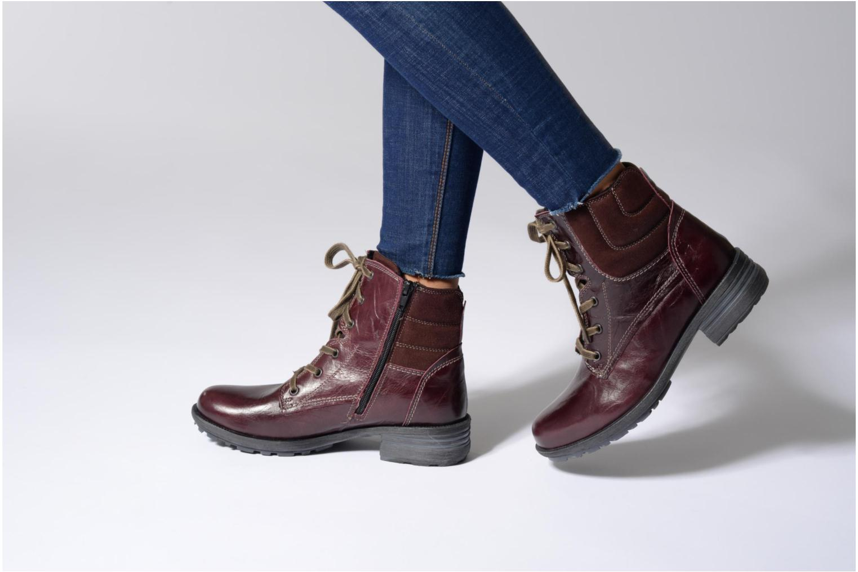 Boots en enkellaarsjes Josef Seibel Sandra 64 Bordeaux onder