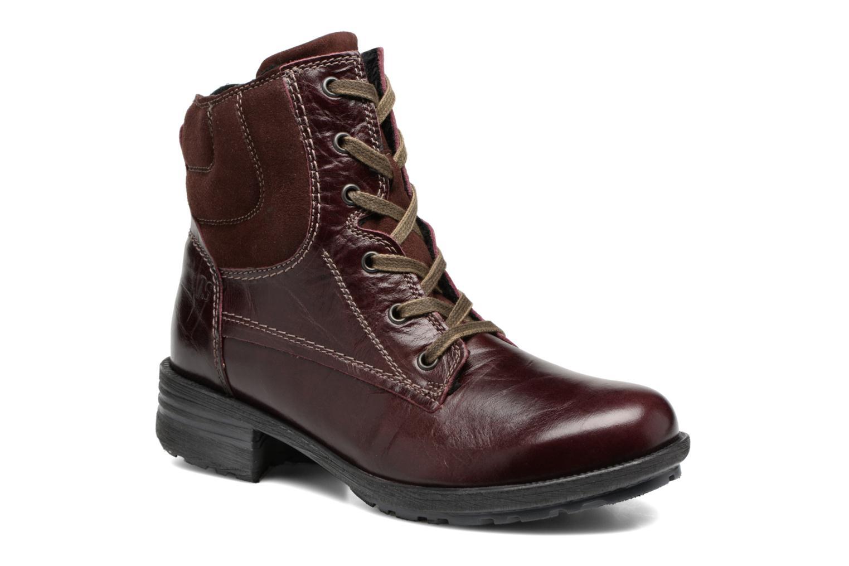 Boots en enkellaarsjes Josef Seibel Sandra 64 Bordeaux detail