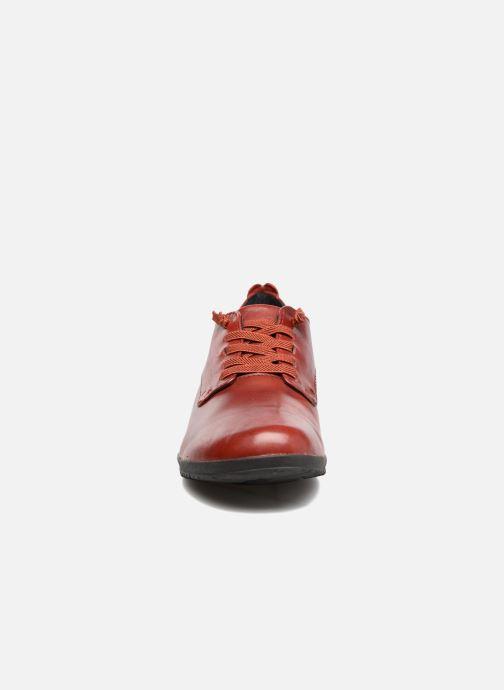 Zapatos con cordones Josef Seibel Naly 11 Rojo vista del modelo