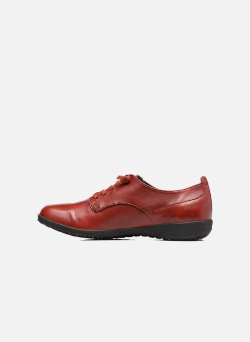 Zapatos con cordones Josef Seibel Naly 11 Rojo vista de frente