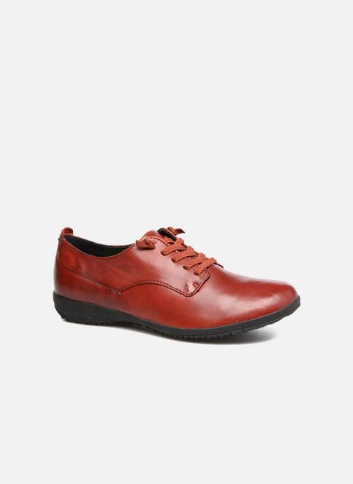 Lace-up shoes Josef Seibel Naly 11 Red detailed view/ Pair view