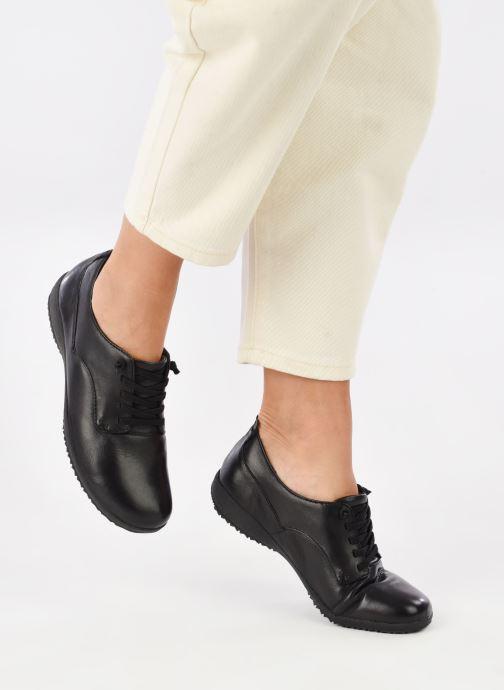 Chaussures à lacets Josef Seibel Naly 11 Noir vue bas / vue portée sac