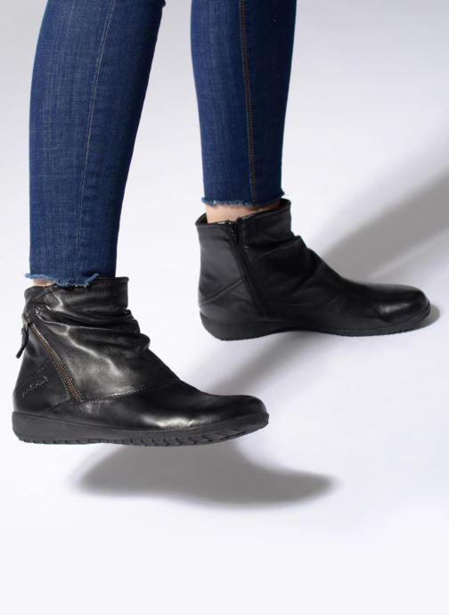 Stiefeletten & Boots Josef Seibel Naly 01 schwarz ansicht von unten / tasche getragen