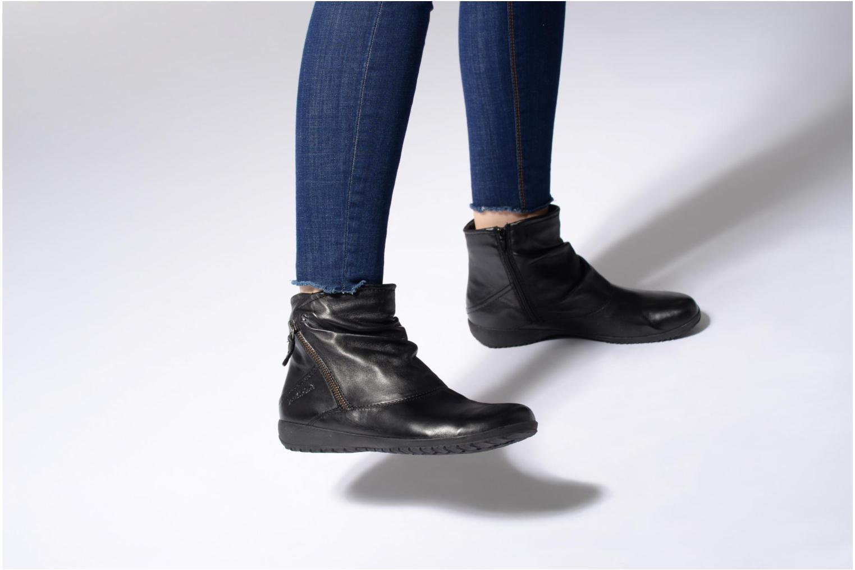 Bottines et boots Josef Seibel Naly 01 Noir vue bas / vue portée sac