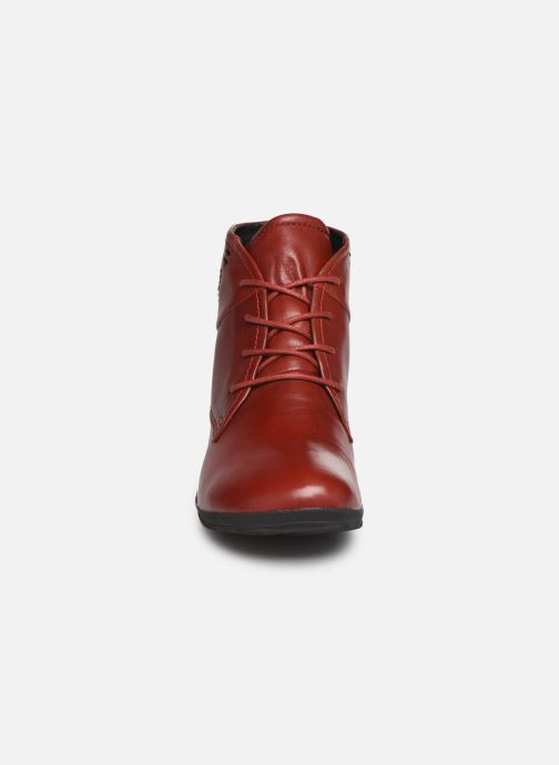 Bottines et boots Josef Seibel Naly 09 Rouge vue portées chaussures