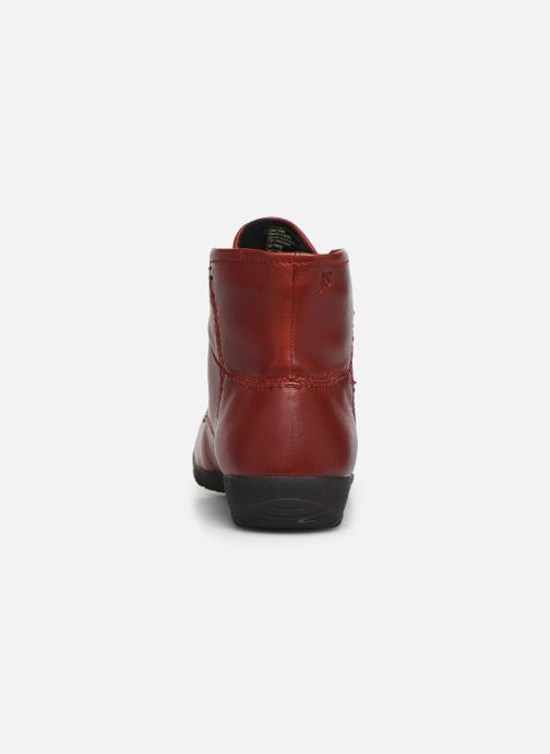 Bottines et boots Josef Seibel Naly 09 Rouge vue droite