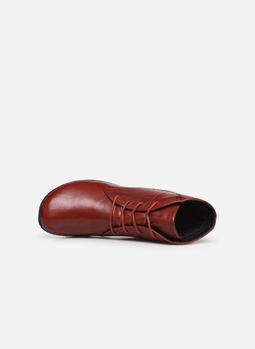 Bottines et boots Josef Seibel Naly 09 Rouge vue gauche