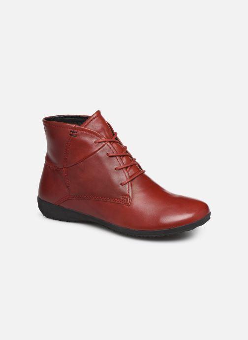 Ankelstøvler Josef Seibel Naly 09 Rød detaljeret billede af skoene
