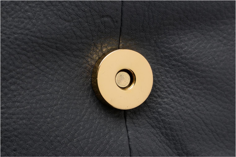 Sacs à main Pieces Joline Leather Crossbody Gris vue gauche