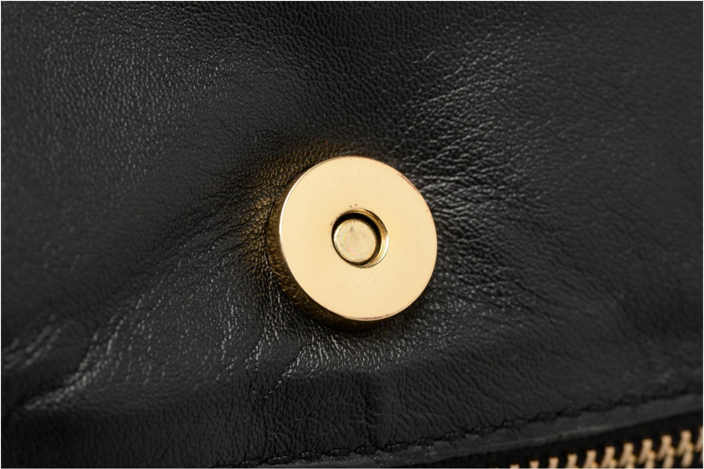 Sacs à main Pieces Jase Leather Crossbody Noir vue gauche