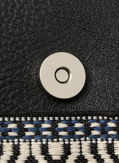 Handtassen Pieces Jadak Crossbody Zwart links