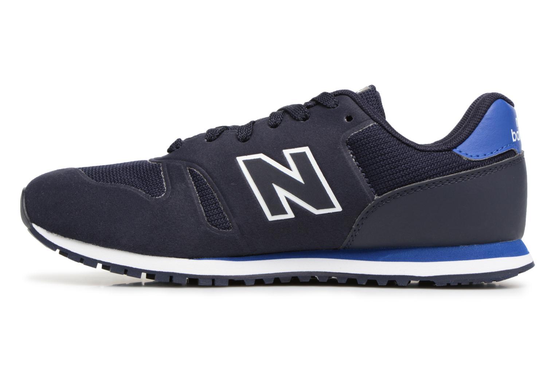 Sneaker New Balance KD373 blau ansicht von vorne
