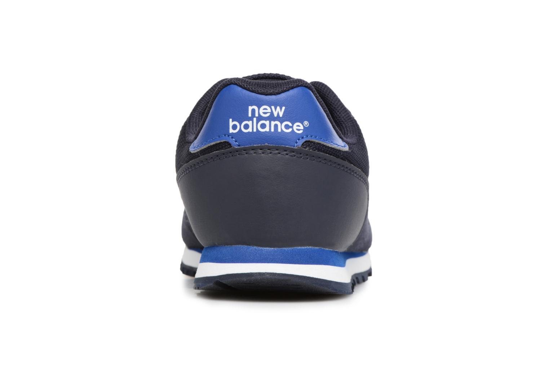 Sneaker New Balance KD373 blau ansicht von rechts