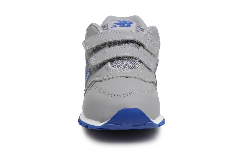 Baskets New Balance KV500 I Gris vue portées chaussures