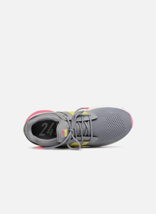 Sneaker New Balance KL247 grau ansicht von links