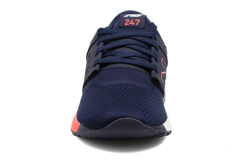 Baskets New Balance KL247 Bleu vue portées chaussures