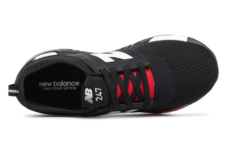 Baskets New Balance KL247 Noir vue gauche