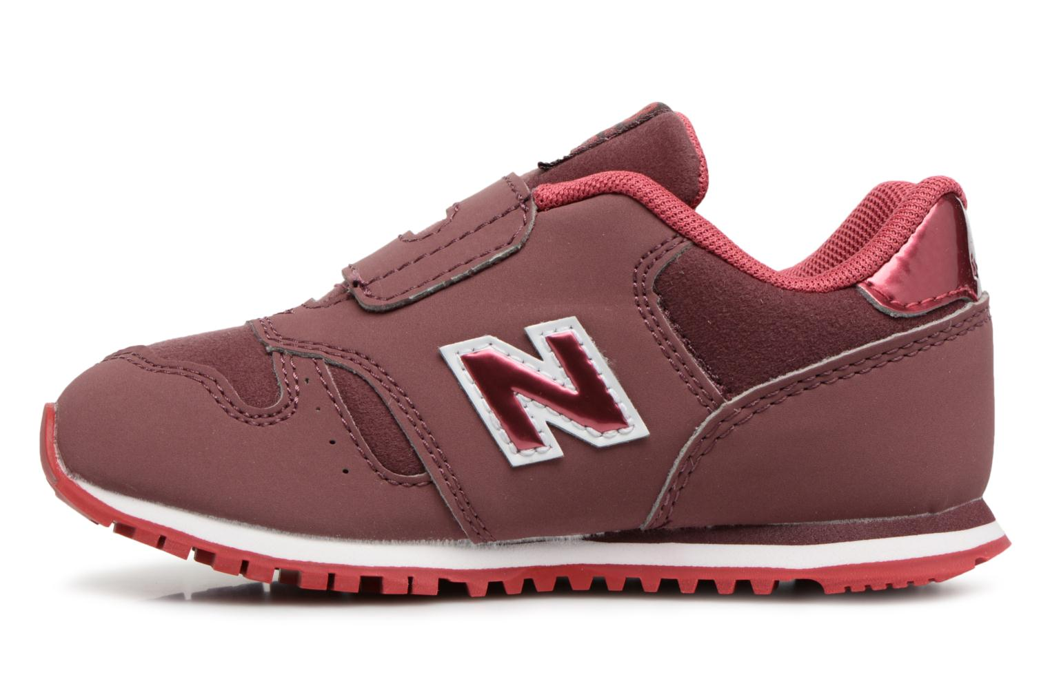 Sneakers New Balance KV373 I Bordò immagine frontale