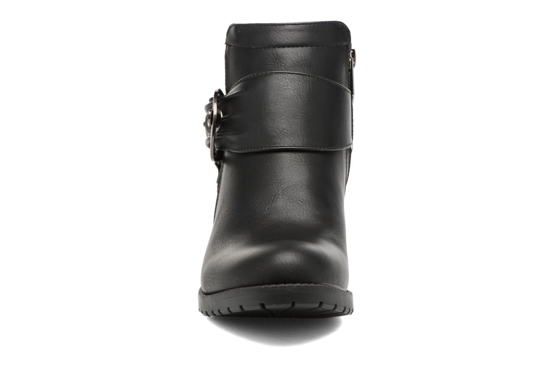 Bottines et boots Les P'tites Bombes Diane Noir vue portées chaussures
