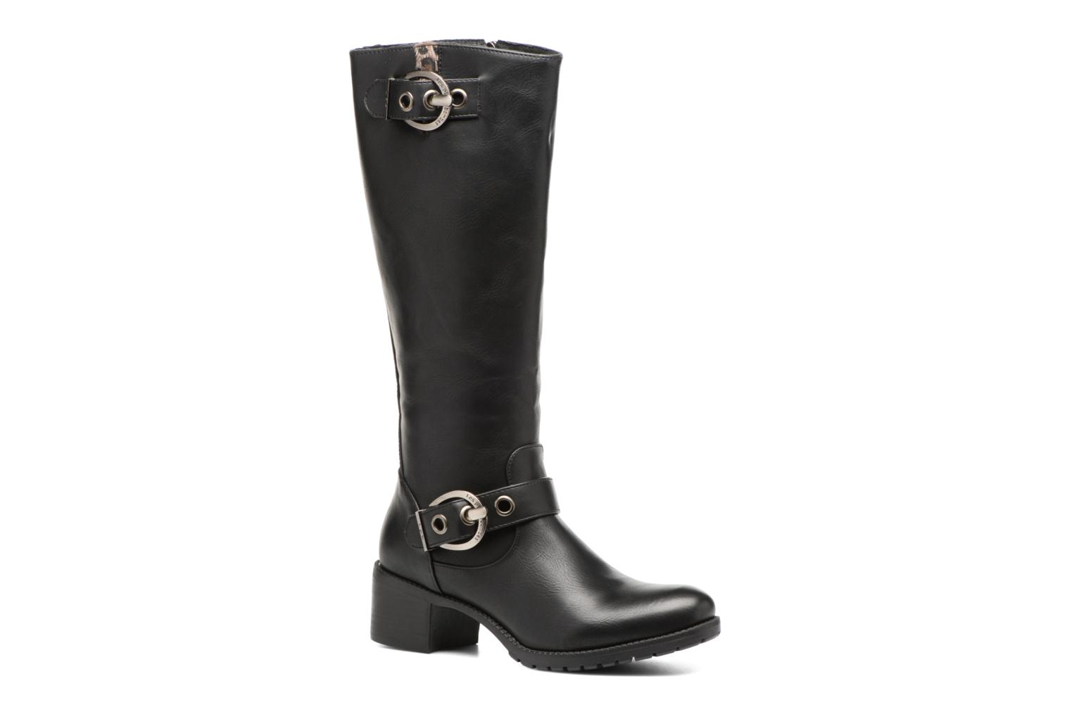 Boots & wellies Les P'tites Bombes Gaelle Black detailed view/ Pair view