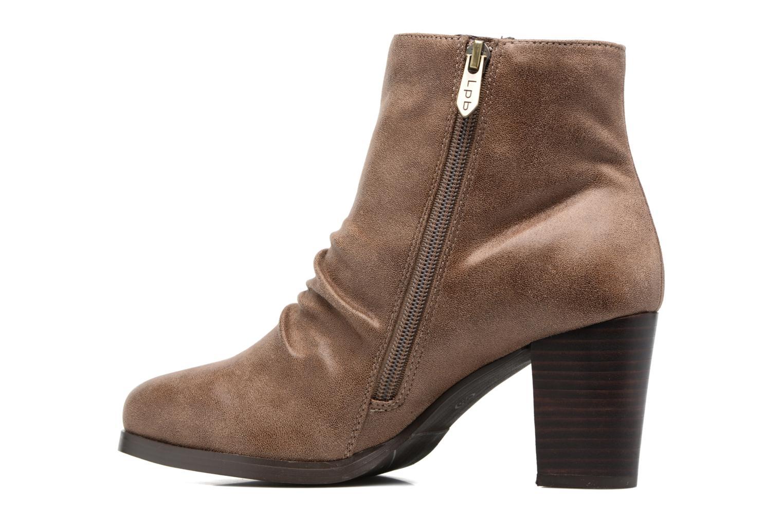 Bottines et boots Les P'tites Bombes Claire Marron vue face