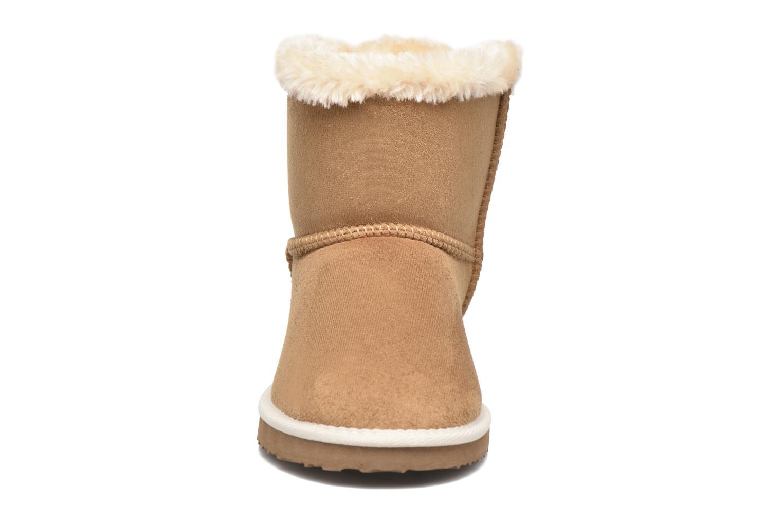 Bottines et boots Les P'tites Bombes NADEGE Marron vue portées chaussures