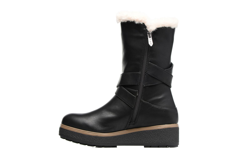 Boots & wellies Les P'tites Bombes Fabienne Black front view