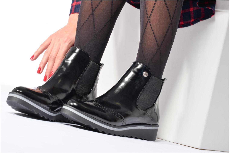 Bottines et boots Les P'tites Bombes Bénédicte Noir vue bas / vue portée sac